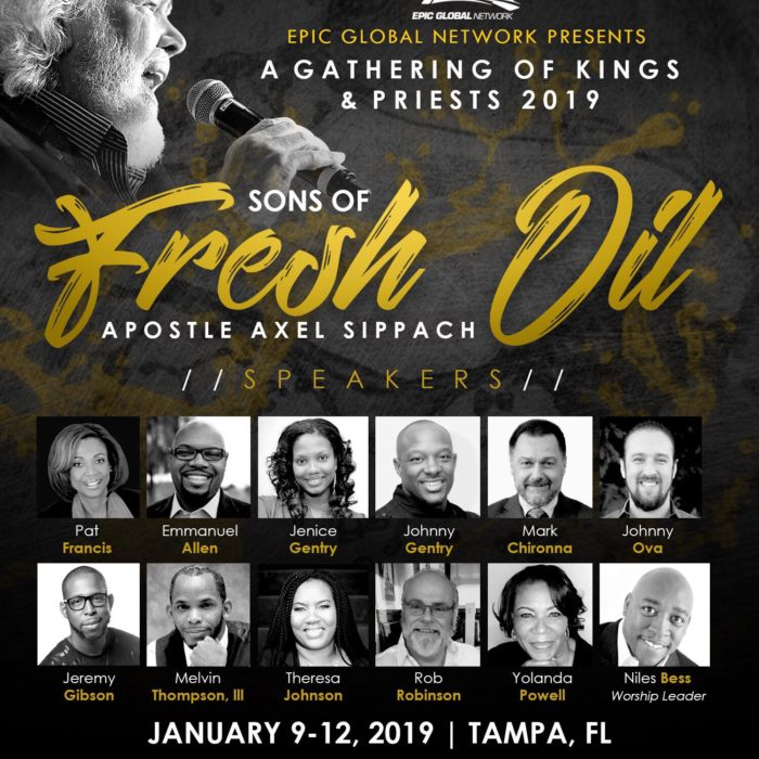 SONS OF FRESH OIL NEW FLYER WITH PICS